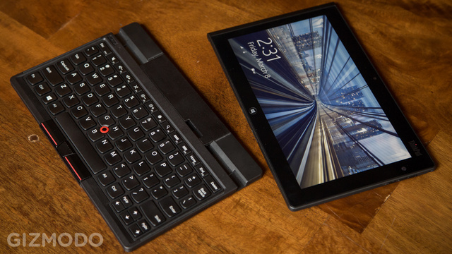 Click here to read Lenovo Thinkpad Tablet 2 Review: Just Barely a Laptop