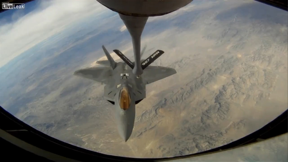 Why Are F-22 Raptors Patrolling Las Vegas?