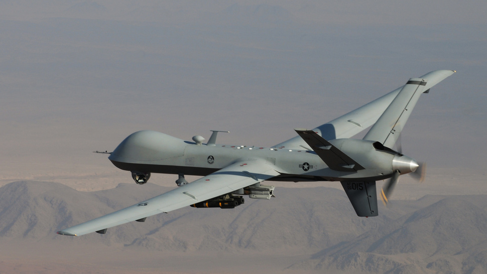 Air Force Stops Reporting Drone Strikes in Afghanistan