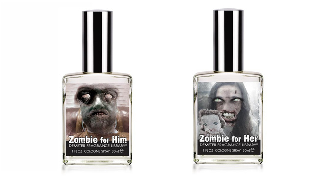 Click here to read Zombie-scented perfumes make you smell less attractive to the undead
