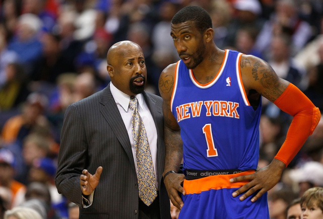 Amar'e Stoudemire To Get Knee Surgery, Out For Six Weeks
