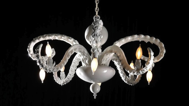 Click here to read Octopus chandeliers add the right touch of tentacle to any decor