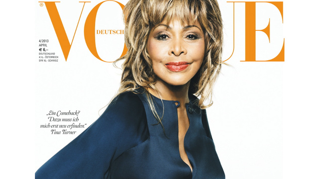 Click here to read Tina Turner Graces <i>Vogue</I> for the First Time at 73