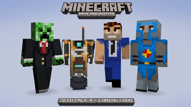 Borderlands, Assassin's Creed and Tons More Coming to Minecraft's Next Xbox 360 Skin Pack