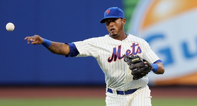 Mets Utility Player Jordany Valdespin Took A Fastball Right To …