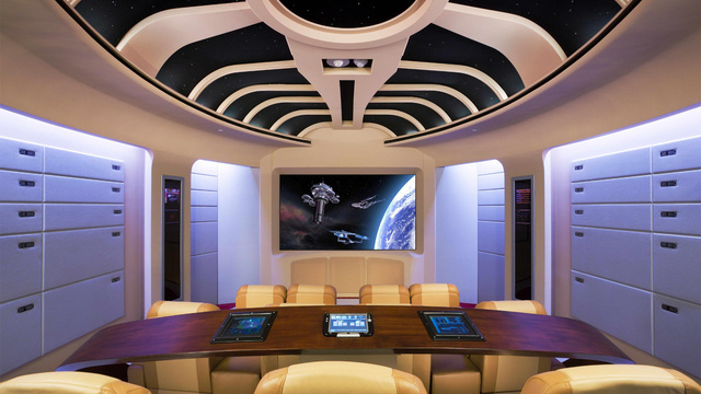 16 Crazily Over the Top Home Theaters