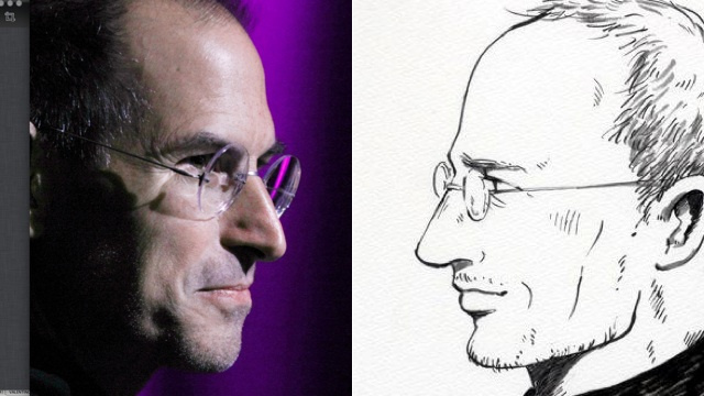 How Does Japanese Manga Steve Jobs Compare to Real Steve Jobs?