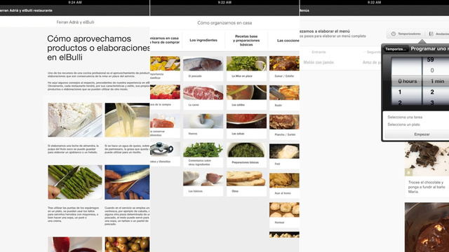 Click here to read ElBulli's Cooking App Is Perfect