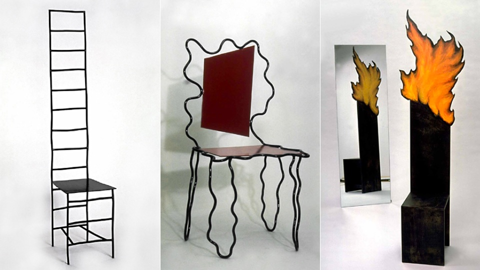 Oddball 39 80s chairs will make you say 39 beetlejuice 39 three for 1980s chair design