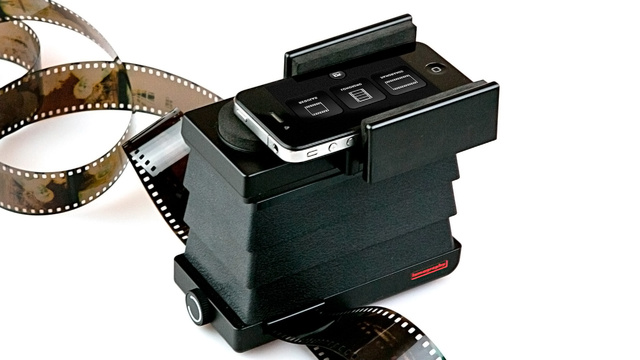 Click here to read Lomography's Smartphone Scanner Digitizes Film Right To Your Mobile Device