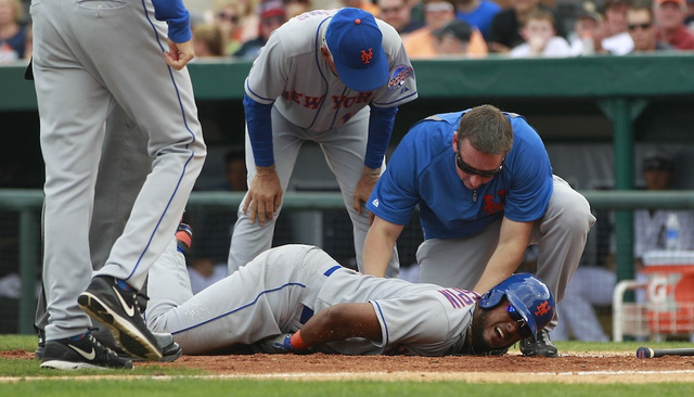 Jordany Valdespin Taking A Fastball Right To The Dick: A Photo …