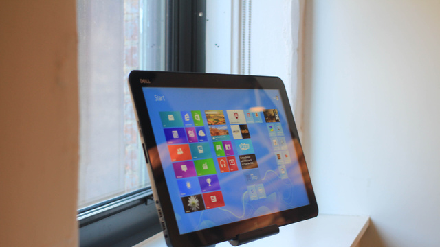 Dell's XPS All-in-One Turns into an 18-inch Tablet... That Actually Doesn't Suck