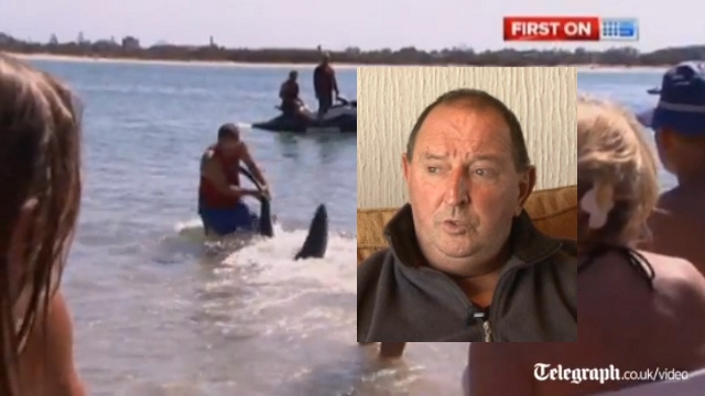 Hero Grandpa Who Fought Off Shark to Save Children Fired from Job at Children's Charity