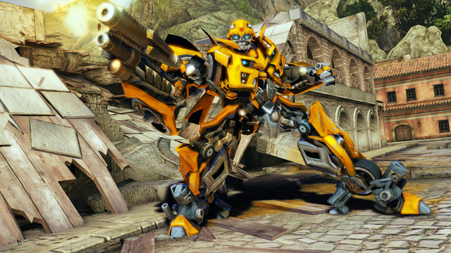 Transformers: Dark of the Moon: The Video Game Screen Shots