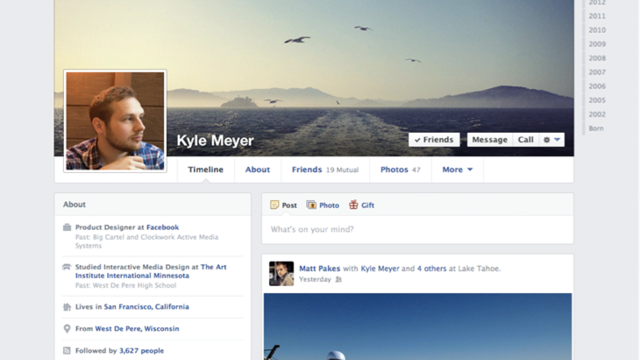 Your Facebook Profile Just Changed Again