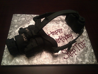 Night Vision Cake Makes For A Prestigious Birthday