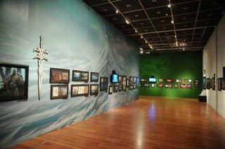 Blizzard, The Art Exhibition