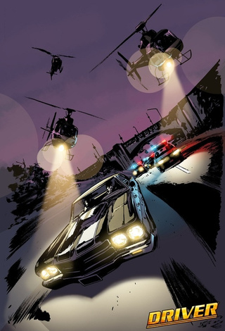 Ubisoft and DC Team Up for Driver Comic