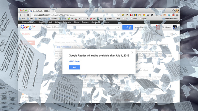 xlarge Google Reader Is Shutting Down; Here Are the Best Alternatives