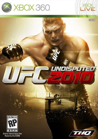 Brock Lesnar Gets UFC Undisputed Cover