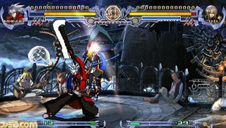 BlazBlue PSP Screens Reveal The Lower Res Rebel