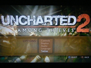 Uncharted 2 Can Tweet For You