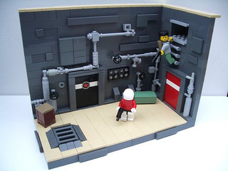 Shadow Complex in LEGO