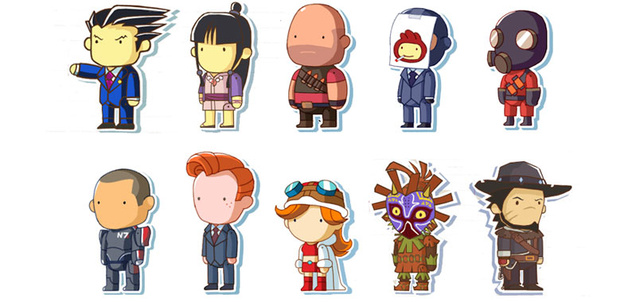 If Only These Characters Were Actually In Scribblenauts...