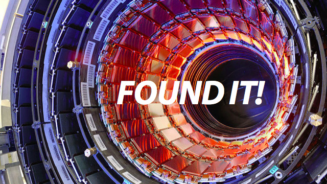 "Click here to read New Particle ""Looking More and More Like a Higgs Boson"""