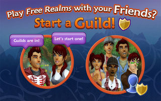 Free Realms Gets Guilds
