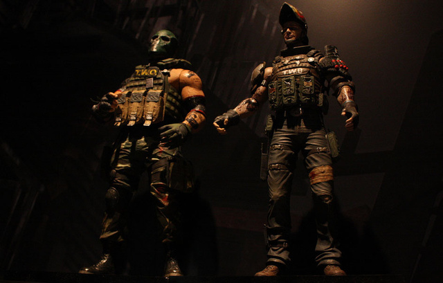 Army Of Two Figures Bring Total Fistbump Destruction To The Playground