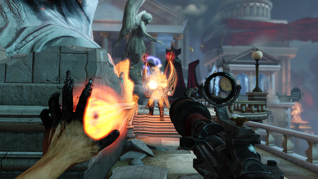 This Gory BioShock Infinite Trailer Shows Off Booker's Big Guns