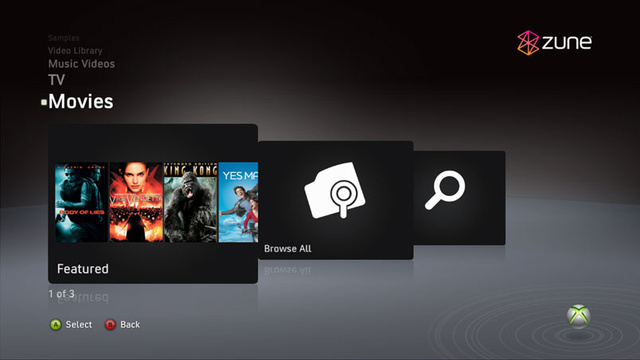Zune Video Comes to Live In 1080p HD This Fall