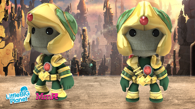 LittleBigPlanet Goes Mad For Judge Dredd, 2000AD