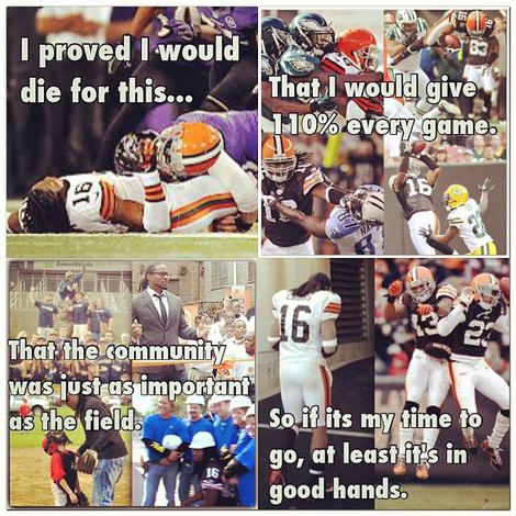 Josh Cribbs Bid Browns Fans A Heartwarming Goodbye On Instagram