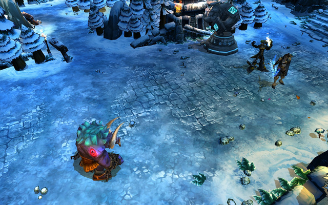 Even League Of Legends Needs A Snow Level