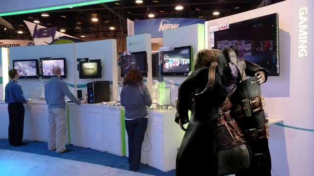 "CES 09: Microsoft Responds To Sony's Console Add-On ""Peddling"" Claims"