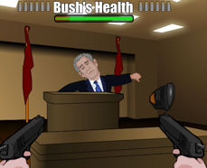 Shoe Attack On President Already Turned Into A Crappy Flash Game