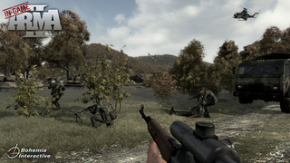 First ArmA II In-Game Screen Surfaces