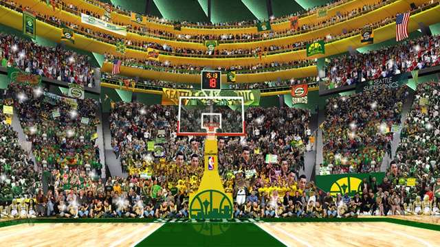 The Potential New Sonics Arena Sure Would Have A Lot Of Standin…