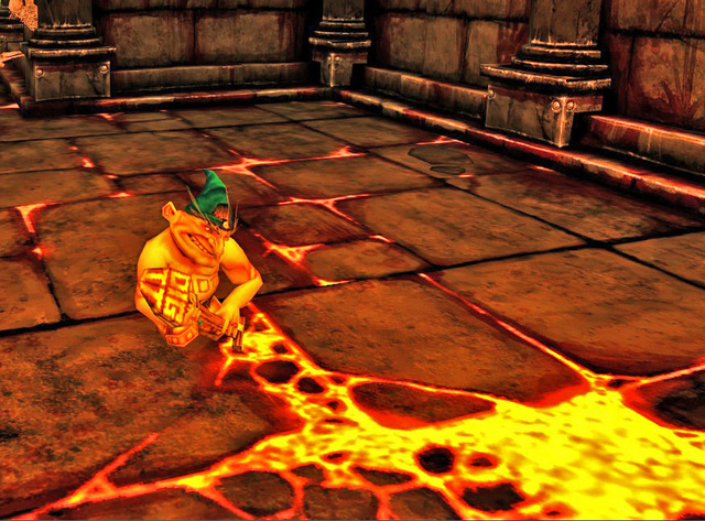 Dungeon Runner's Gold-Excreeting Bling Gnome Spotted