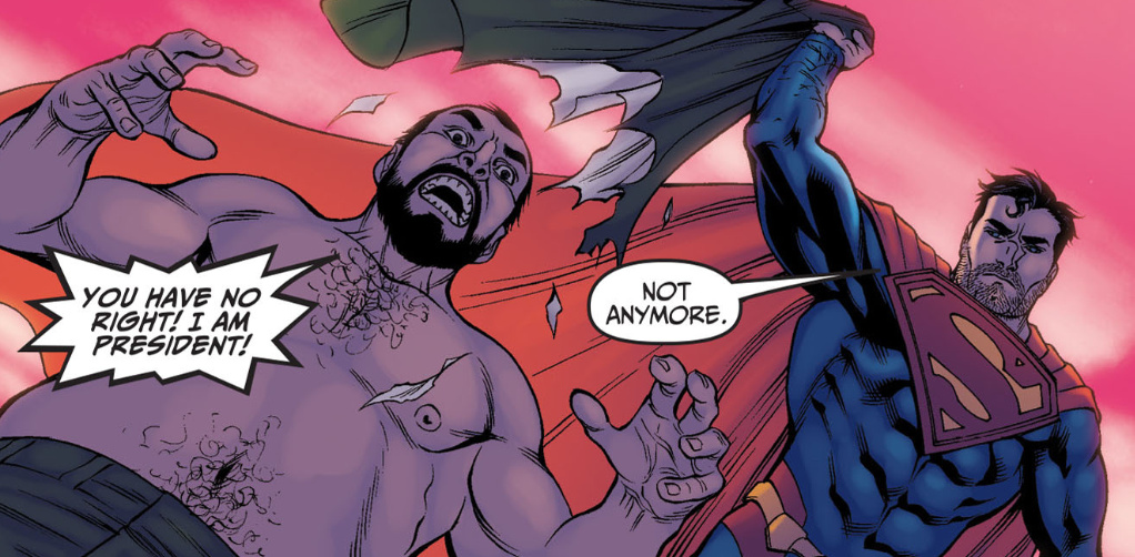 Superman Is An Incredible Jerk In The Injustice Comics