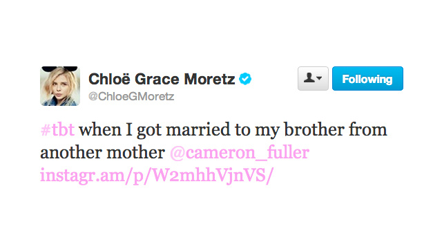 Mazel! Chloë Grace Moretz Gets Fake Engaged