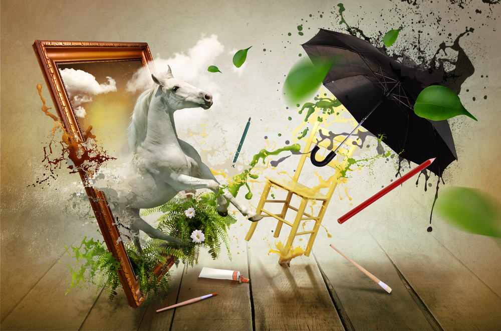 Nine of the best ways to boost creative thinking for Creative paintings pictures