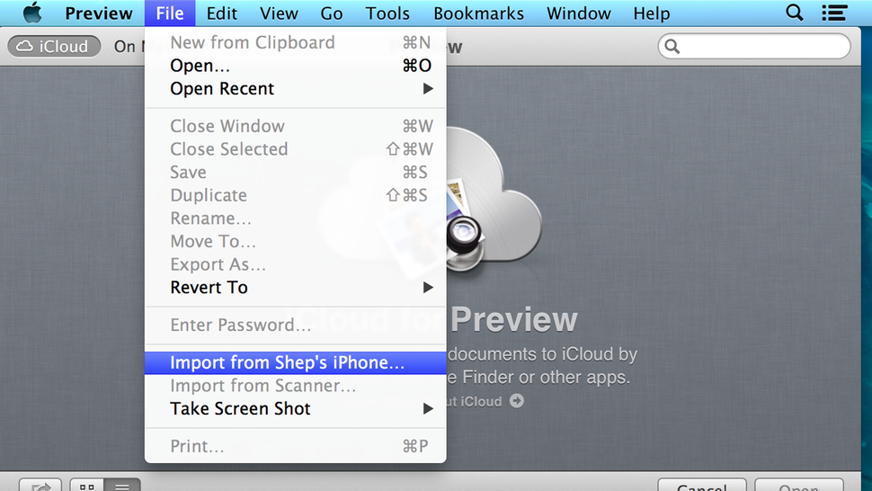 Import Smartphone Photos Faster on your Mac with Preview
