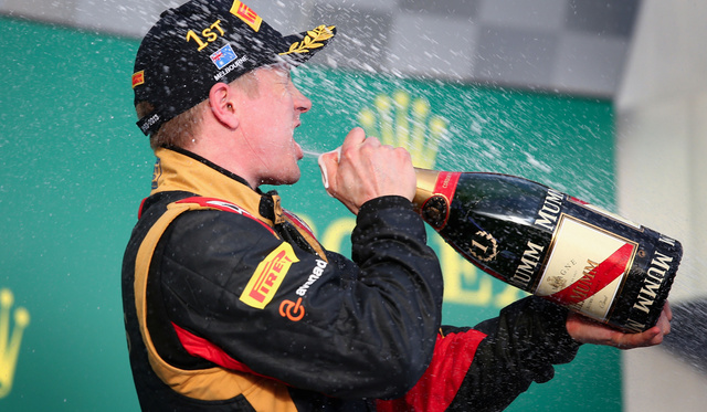 ku xlarge Kimi Raikkonen Wins the Australian Grand Prix!