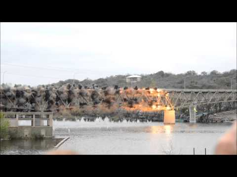 Click here to read Your Monday Morning Explosion Fix: Watch This Bridge Blow Up in Glorious Slow Motion