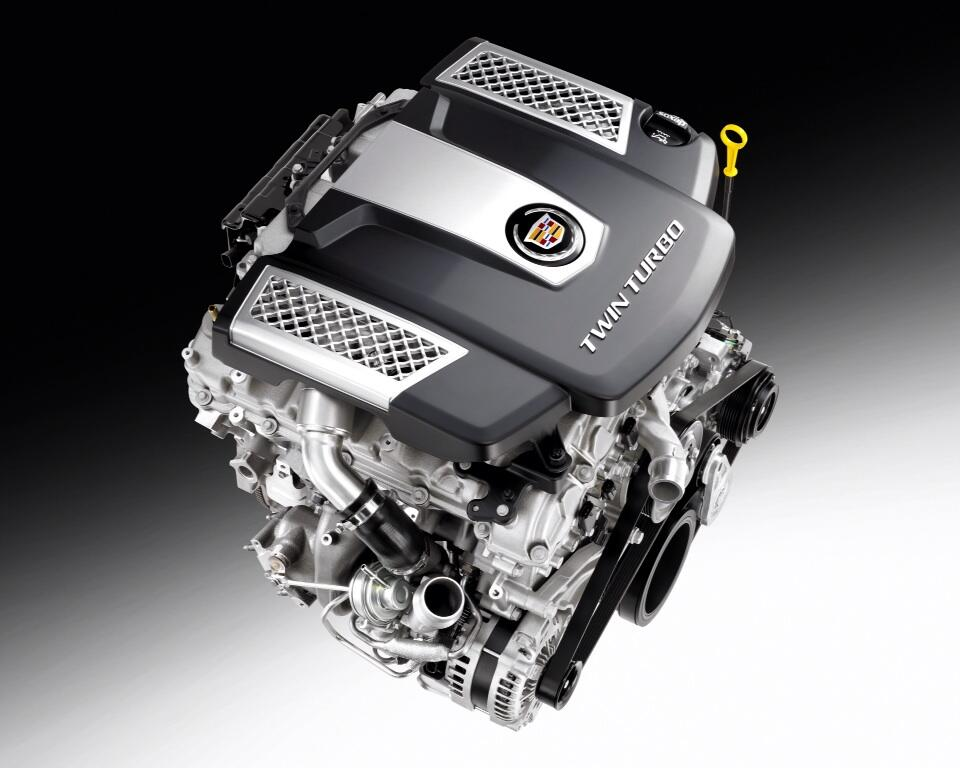 Cadillac's 3.6L Twin Turbo V6