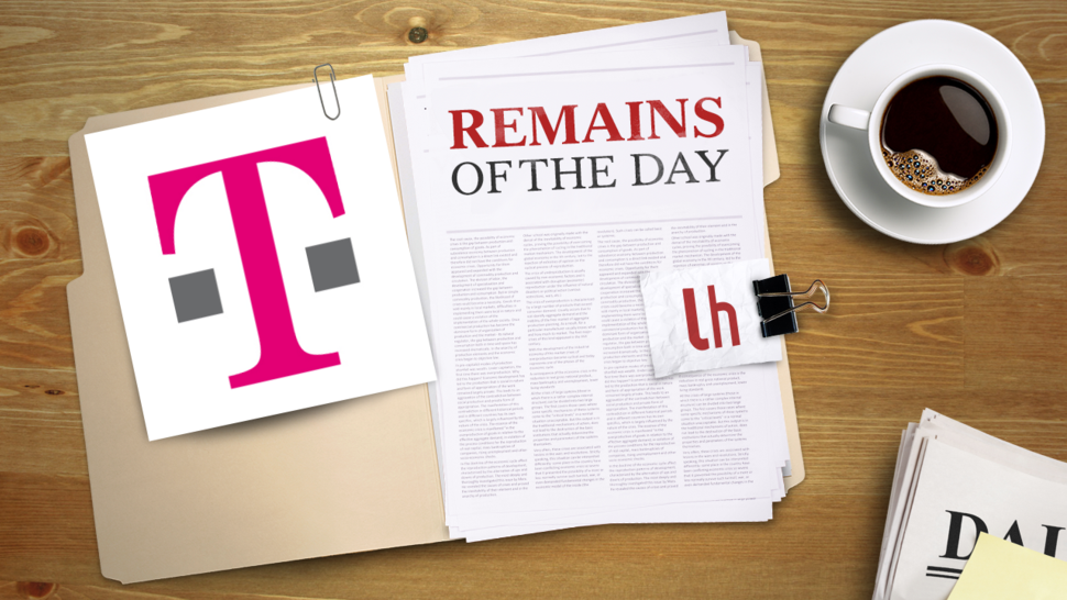 Remains of the Day: T-Mobile Gears Up Its LTE Service