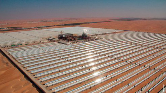 UAE Opens Biggest Solar Power Station In The World